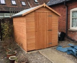 shed install