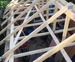 new garage roof trusses